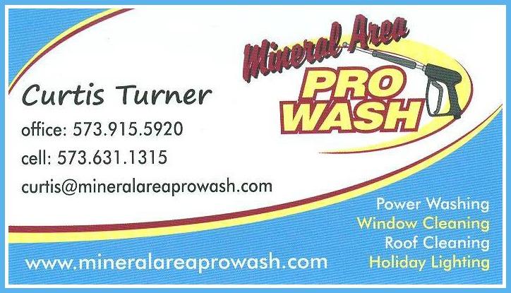 Mineral Area Pro Wash