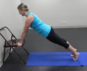 chair plank