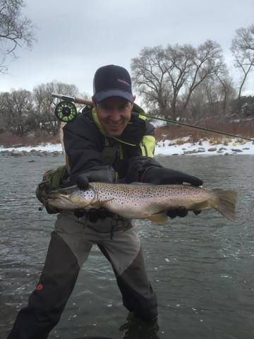 Upcoming events fishing reports eric pettine minturn for Eagle river fishing report