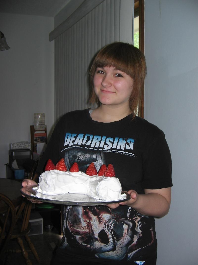 Rachel with Ice Box Cake