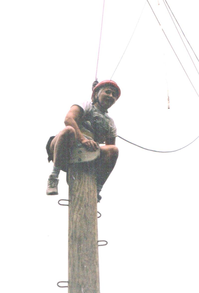 At Top of the Pole