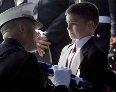 Veteran Funeral Flag