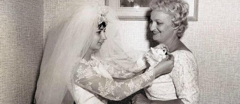 Me with Mom Wedding