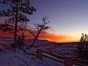 Sunrise at Brice Canyon
