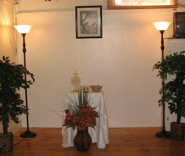 church setup july 2009