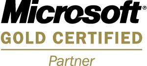 Gold Cert logo
