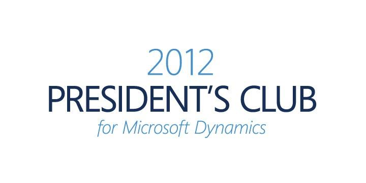 Microsoft President's Club 2012