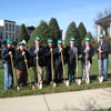 West Union Green Streetscape Groundbreaking