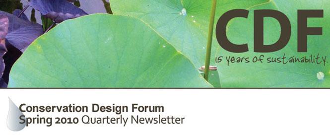 CDF Spring 2010 E-Newsletter