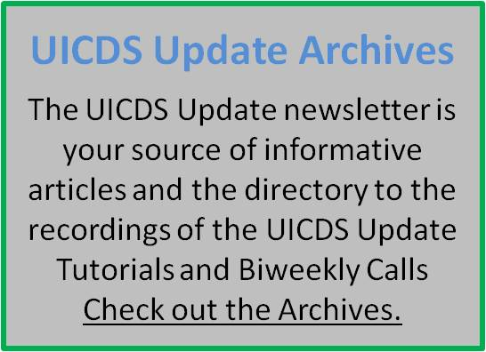 UICDS Update Archives Link