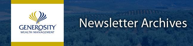 Newsletter Archive Banner