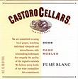 Castoro Cellars Fume Blanc
