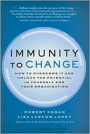 Immunity to Change book