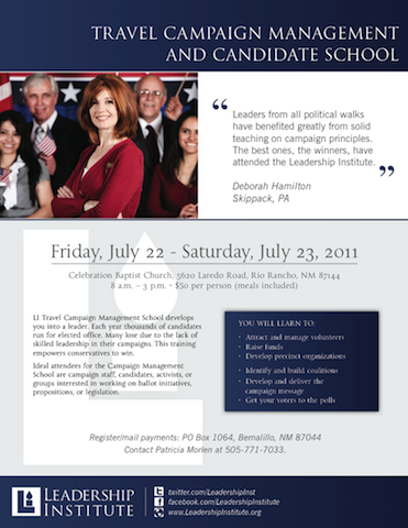 Travel and Candidate Flyer - 2