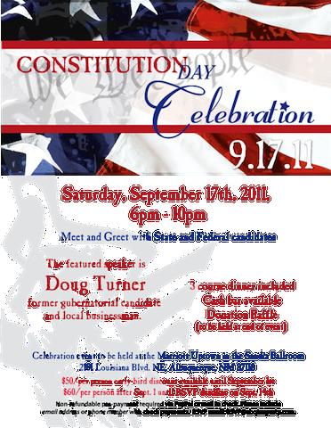 Constitution Day Celebration 2011