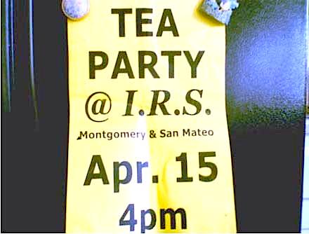 Fraudulent Tea Party Poster