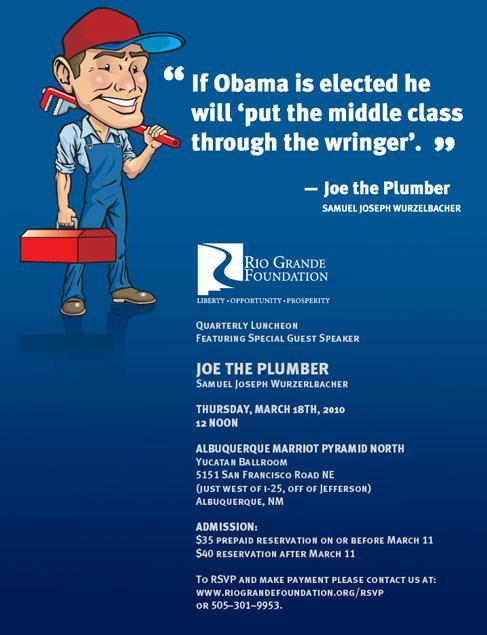 Meet Joe the Plumber