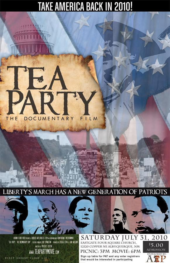 Tea Party Movie Flyer