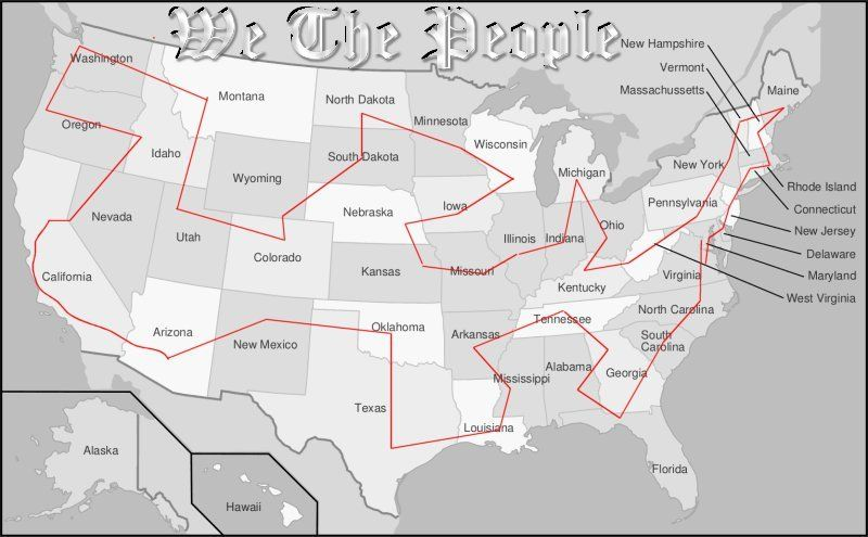 CRAA Ride Map