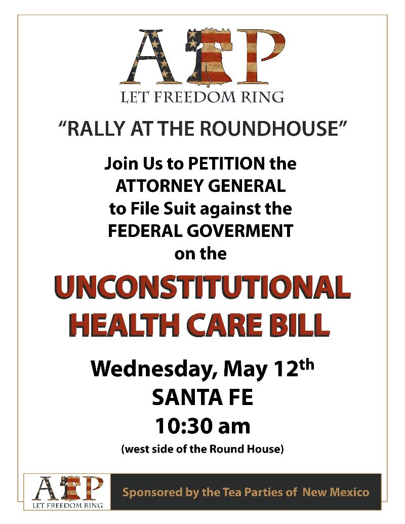 Rally at the Roundhouse Flyer