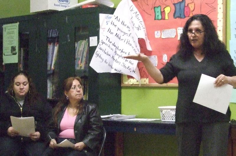 Teachers Unite with Grassroots Activists
