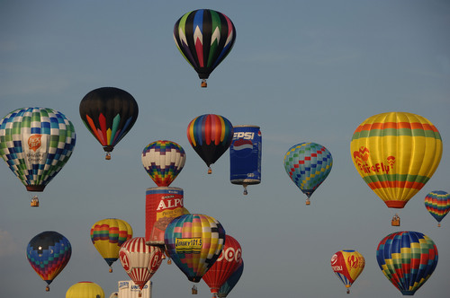 RV Rental Idea: New Jersey Festival of Ballooning