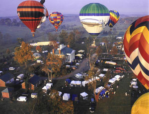Shenandoah Hot Air Balloon and Wine Festival