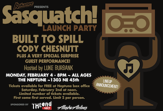 Sasquatch! Launch Party