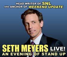 STG Announces Upcoming Events: Seth Meyers and More