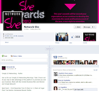 Network She Facebook Page
