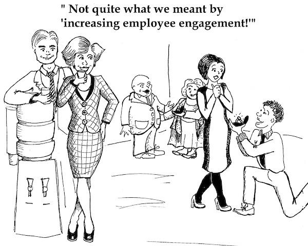 Engagement cartoon S. Lodge