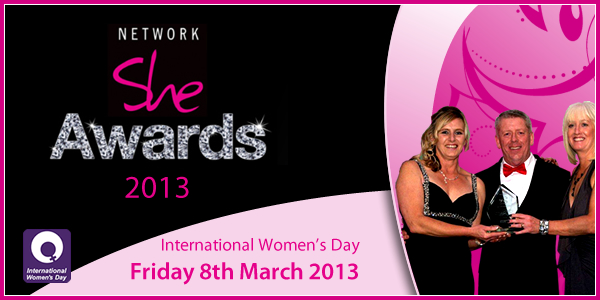 Network She Awards Graphic