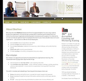 Beehive website screengrab