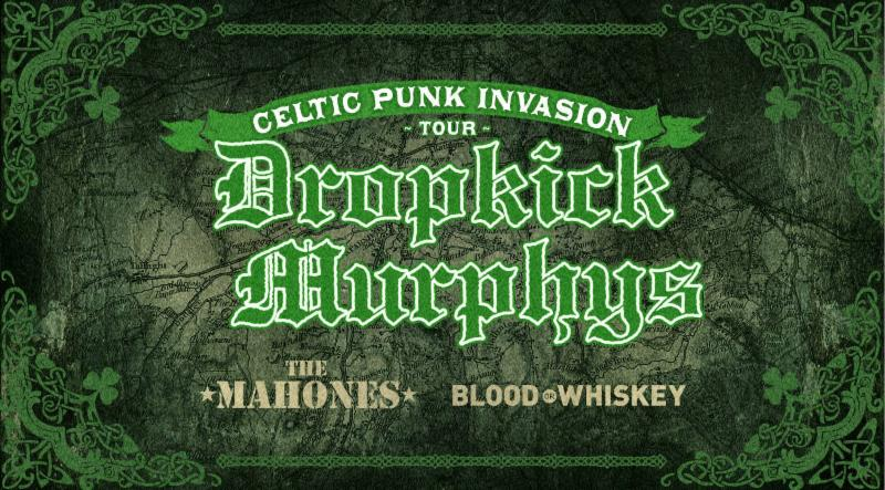 Dropkick Murphys Announce Celtic Punk Invasion Tour with First Ever St. Patrick's Day Concerts in Dublin
