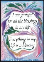 Raphaella's Blessings Poster