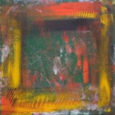 Navajo - acrylic on canvas by Raphaella Vaisseau