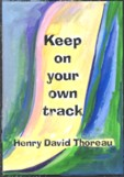 Keep on your own track magnet