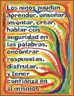 Children can ... in Spanish