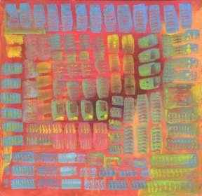 5x5 - Grid 10 giclee print - $34