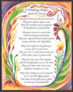 A Wedding Prayer poster