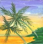 4x4 Original: Florida Sunset