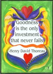 Thoreau on Goodness