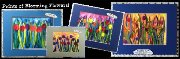 Art prints of Flowers and Gardens by Raphaella Vaisseau - heartfulart.com