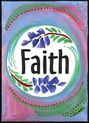 Faith magnet - $5