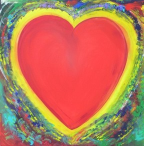 36x36 Heart of Togetherness $1050