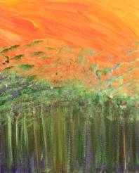 Rainforest - orignal acrylic on canvas