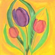 Tulips in the Sun - original or prints