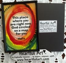2x3 Hafiz magnet by Raphaella Vaisseau - heartfulart.com
