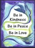 Be in Kindness magnet - Raphaella Vaisseau