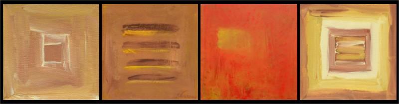 Zen Abstracts by Raphaella Vaisseau